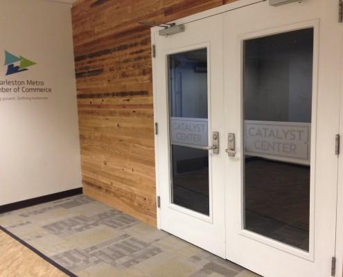 Catalyst Center Door Graphics
