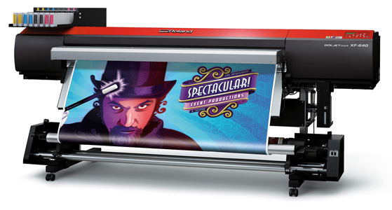 Roland Solvent Printer