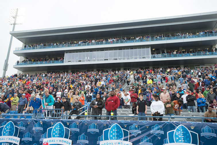 MOHBowl Crowd